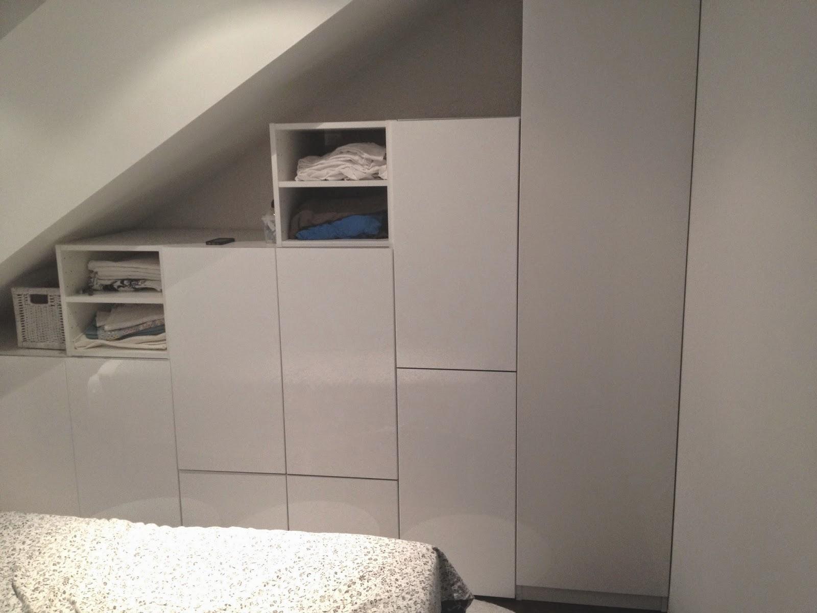 bygg garderob under snedtak | pyssel & inspiration