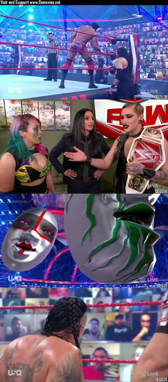 WWE Monday Night Raw 10 May 2021 HDTV 720p 480p 500MB