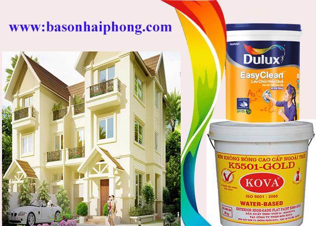 Chúng tôi chuyên nhận sơn nhà trọn gói tại Hải Phòng