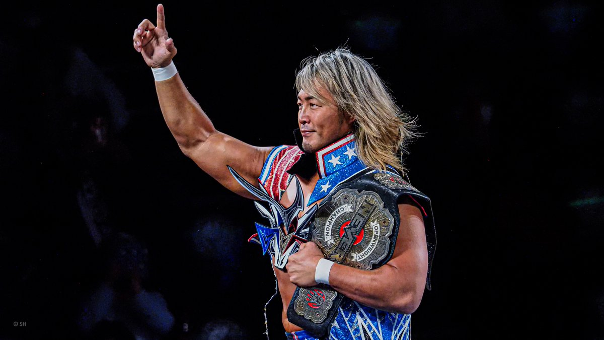 Hiroshi Tanahashi quer elevar o NEVER Openweight Championship