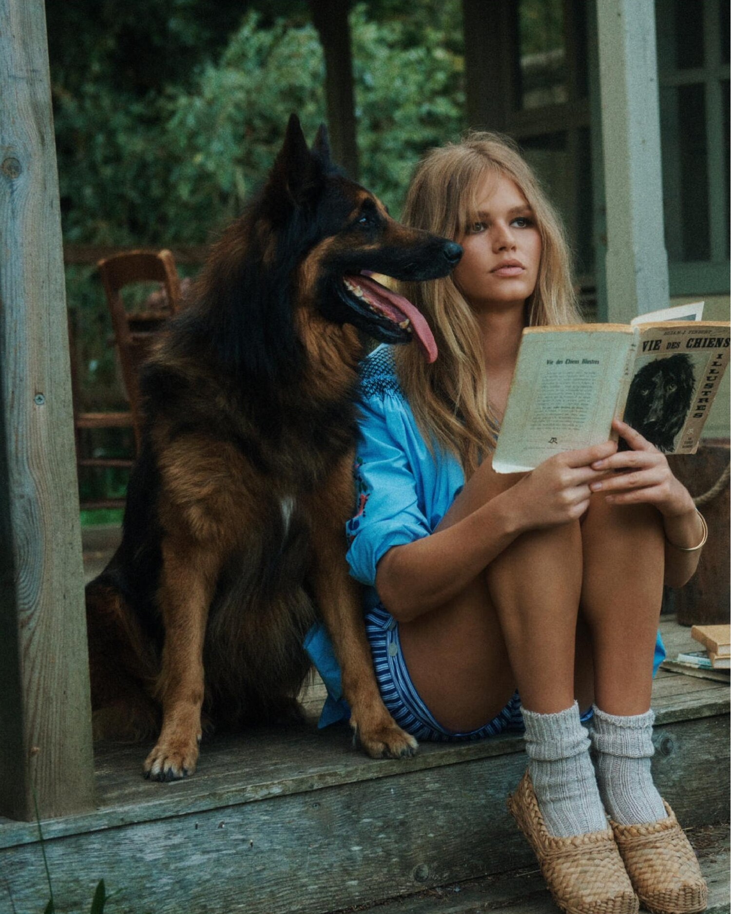 Fashion Editorial: Anna Ewers by Lachlan Bailey for Vogue Paris November 2019