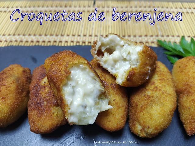 Croquetas De Berenjenas