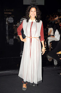 Sameera Reddy at Shrivan Naresh's show at LFW