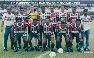 time da cabofriense de 1998