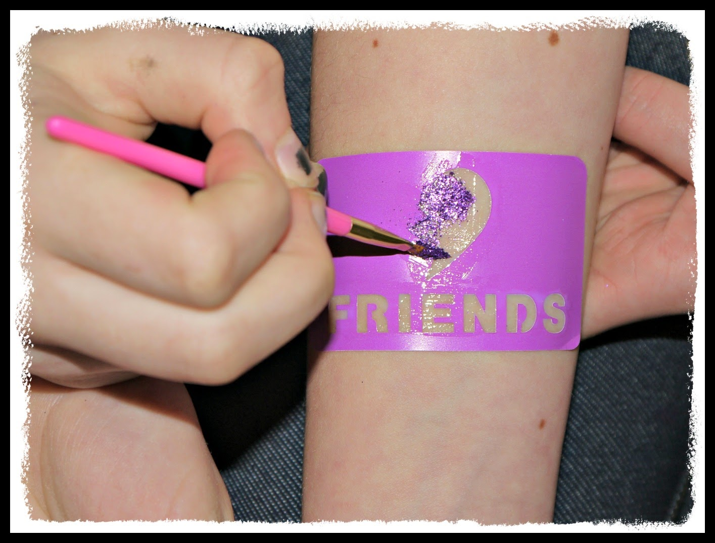 Glitter Tattoos, Interplay