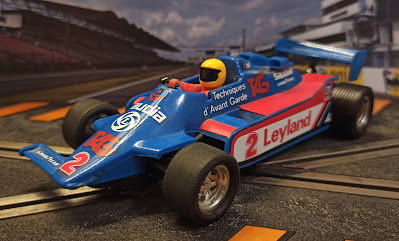 Williams FW-07 Exin Scalextric