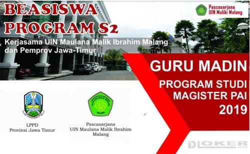 Pendaftaran Beasiswa S2 Guru MADIN di UIN Maulana Malik Ibrahin Malang