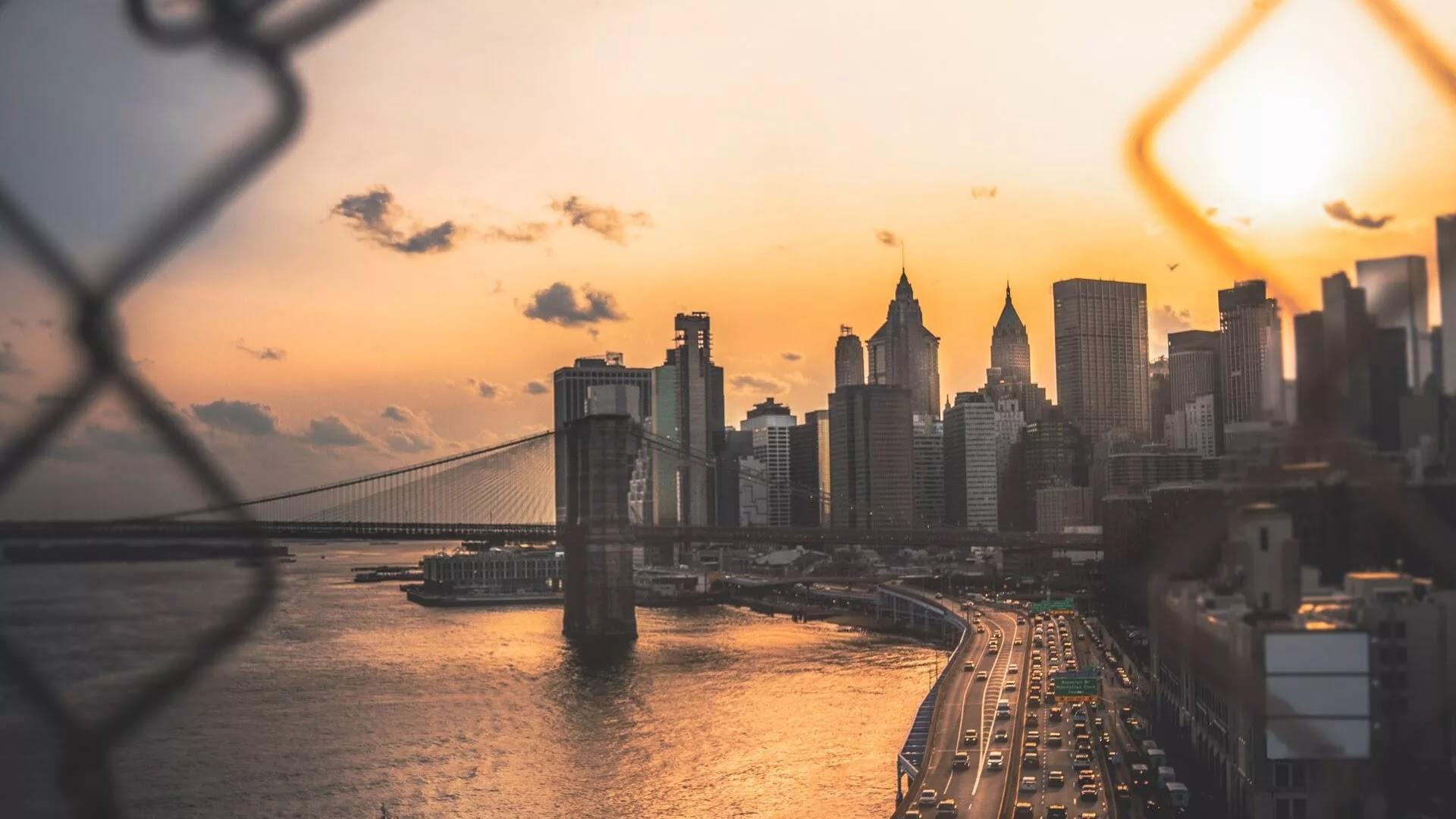 new york city evening image