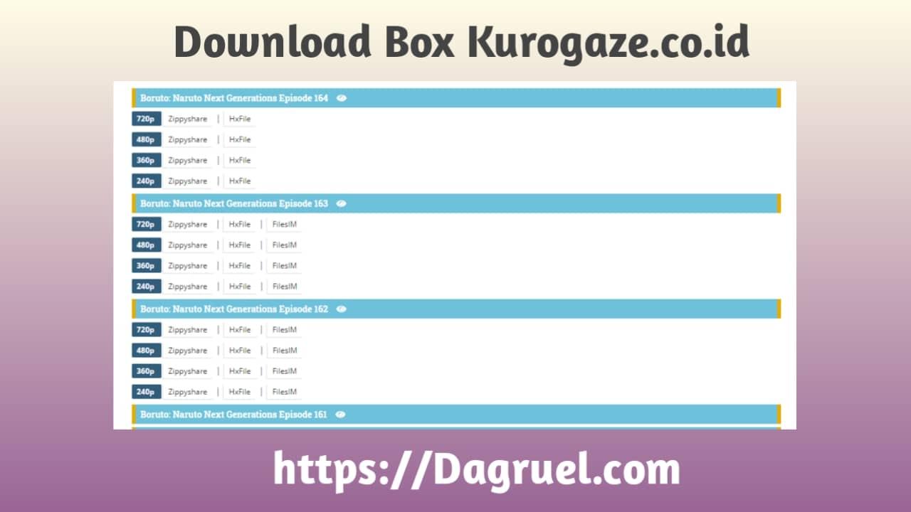 Download Box Kurogaze