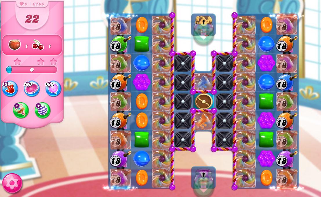 Candy Crush Saga level 6755