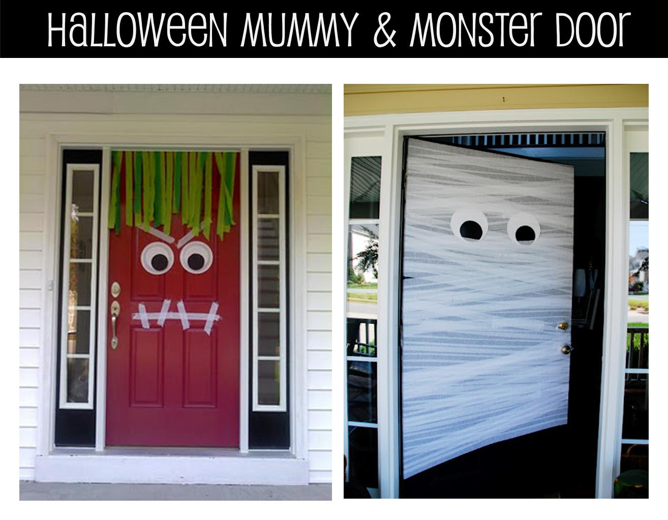It 39 s written on the wall fun halloween games and for Inside outside doors