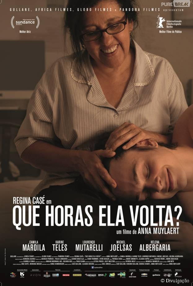 Que Horas Ela Volta? – Nacional (2015)