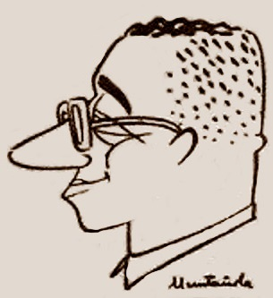 Caricatura de Rafael Saborido Carré