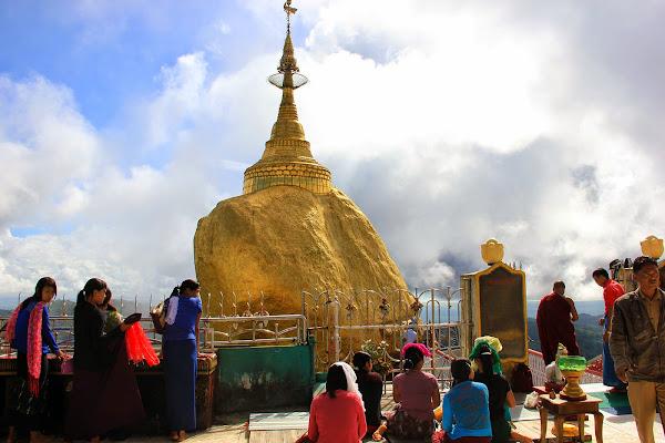 Roca dorada Kyaiktiyo - Myanmar