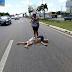 Atropelamento com vítima fatal na BR-101 em Parnamirim