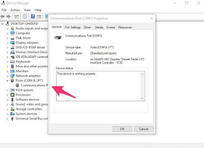 Tăng tốc từ cổng Communication trên PC