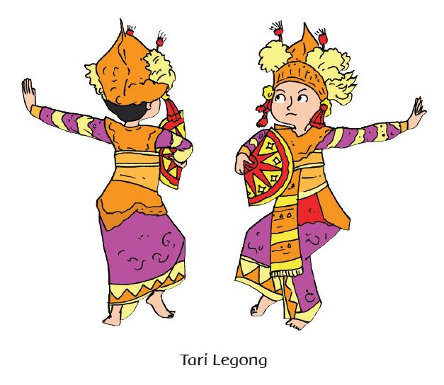 Pola Lantai Tari Legong Berkas Download Guru