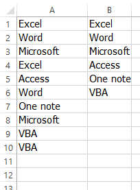 Eng  Shady Mohsen blog: Excel VBA unique function