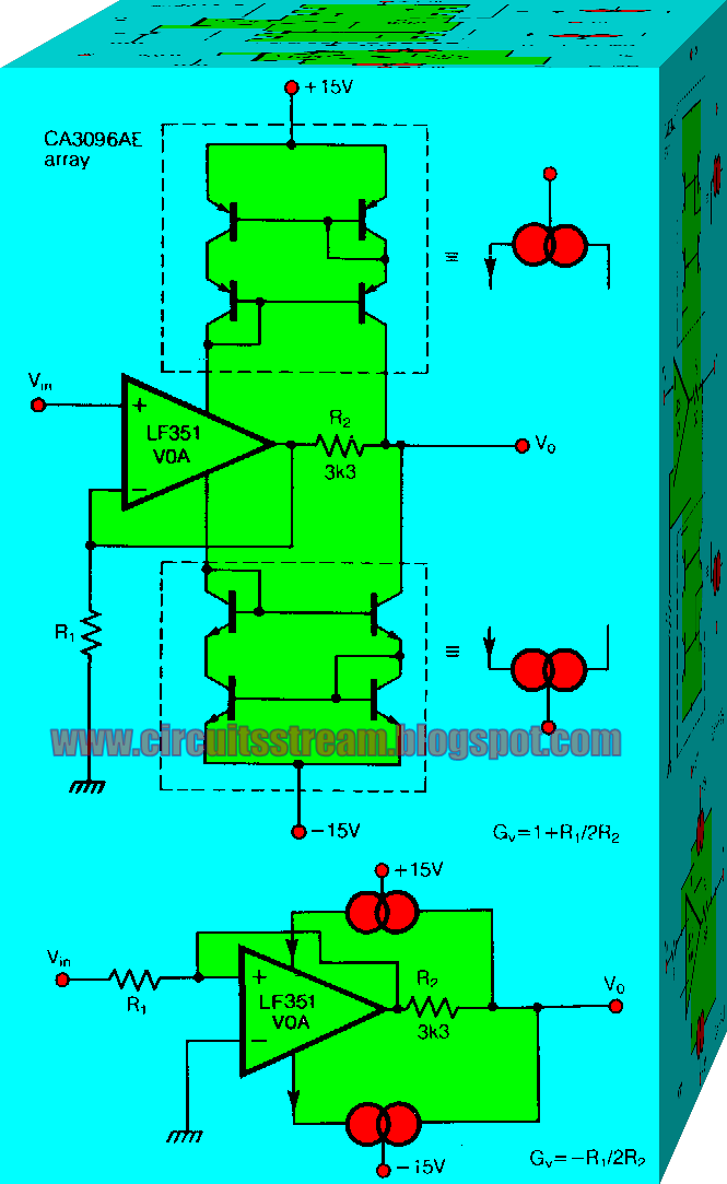 Various diagram: Constant Bandwidth Amplifier Wiring diagram ... on