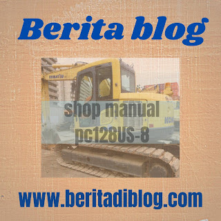 PC128US-8 Excavator Shop Manual Komatsu
