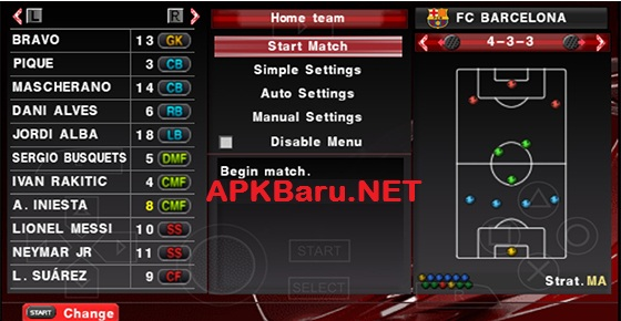 PES 2016 Patch By JPP v3 For Android ISO PPSSPP (Update Januari 2016)