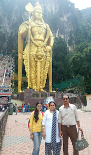 Batu Caves- Murugan statue