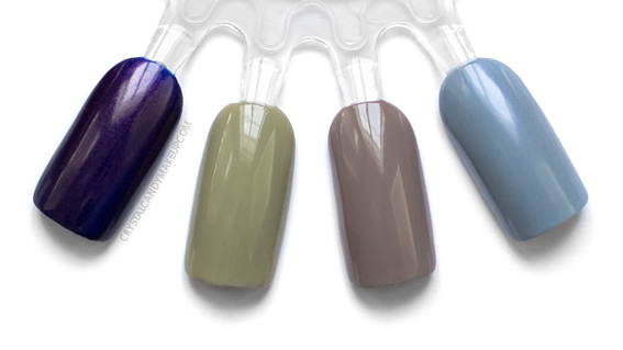 OPI Iceland Collection Fall 2017 Swatches Geysirs Bottle Greeland Northern