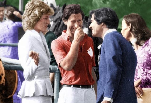 Diana parla con Hoare ed e presente ance Principe Charles