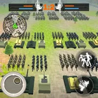 WORLD WAR 3: MILITIA BATTLES RTS Strategy Game for Android