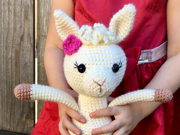 Crochet A Llama CAL - Part 2