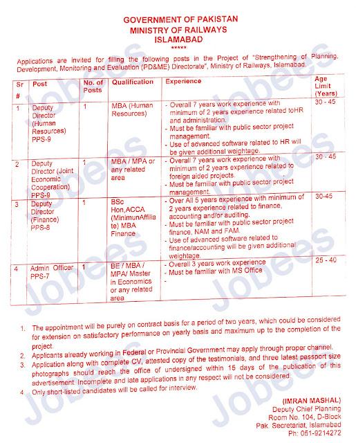 Pakistan Railway Jobs in Karachi 2020 Jobees