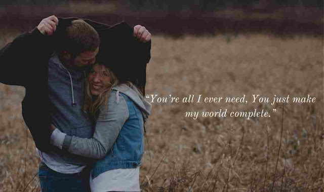 Heart touching love captions