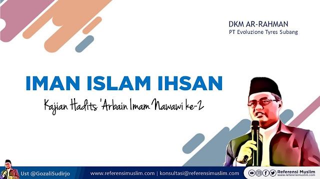 Kajian Hadits Islam Iman dan Ihsan | Download Powerpoint