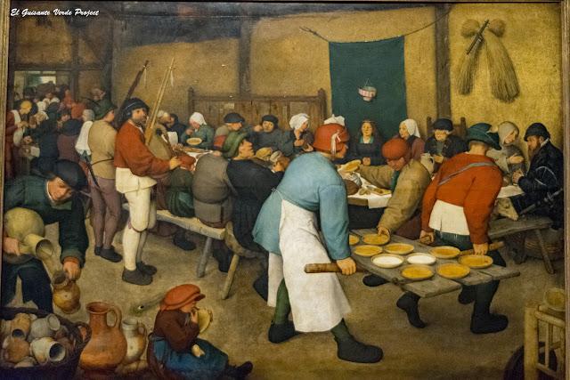 Pieter Bruegel, La Boda Campesina - Kunsthistorisches Museum, Viena por El Guisante Verde Project
