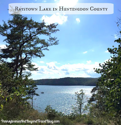 Raystown Lake in Huntingdon County Pennsylvania