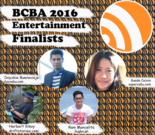 BCBA2016 Finalists of Entertainment Niche