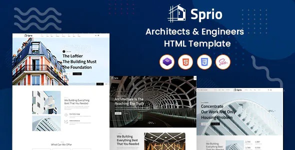 Best Architects & Engineers HTML Template