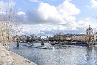 Paris : Pont des Arts, impériale reconstruction, point de vue pictural - VIème