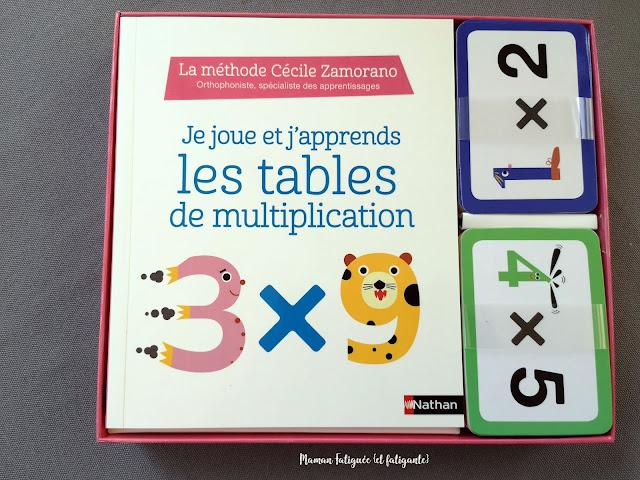 je joue et apprends tables multiplication