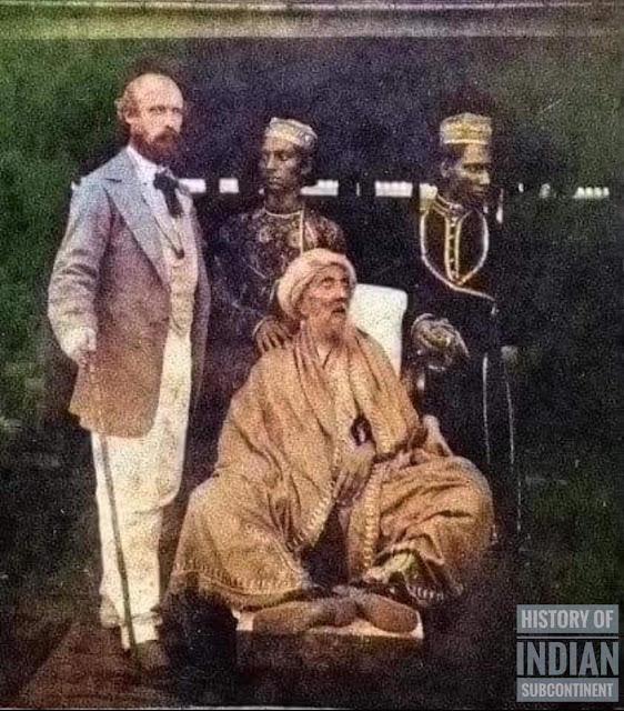 Bahadur Shah Zafar, a Sufi King convicted as a Salafi rebel.