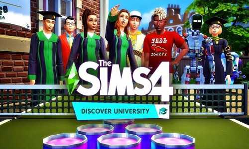 The Sims 4 Discover University Game Free Download