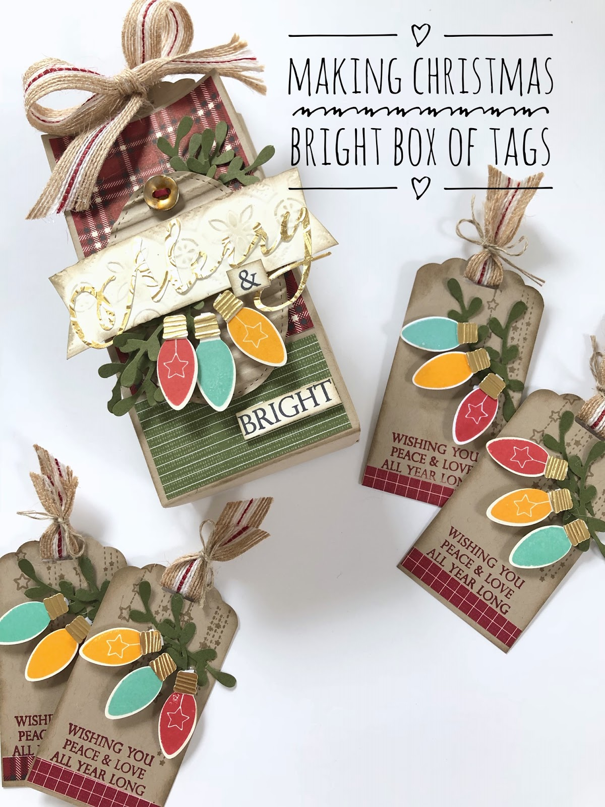 Monica Gale Top STAMPIN'UP! UK Demonstrator: Making Christmas Bright