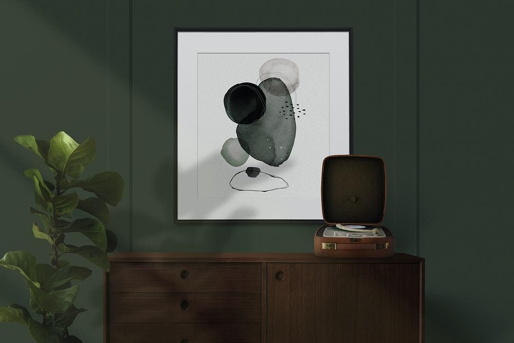 dekoracja komody inspiracje