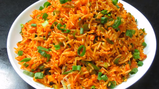 How to make Schezwan Fried Rice