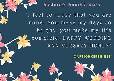 Ucapan Wedding Anniversary Bahasa Inggris Untuk Istri