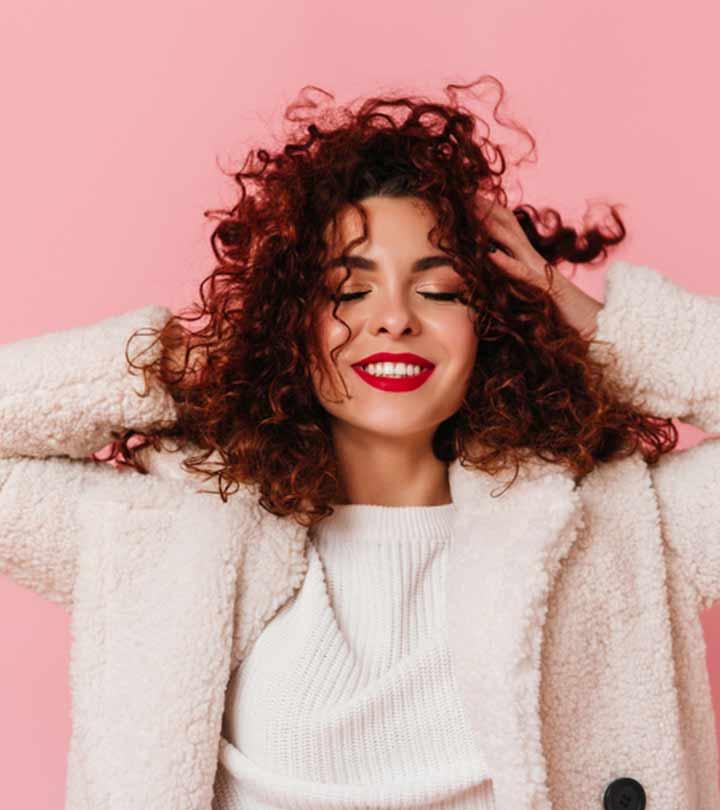 كيفية تجعيد الشعر الناعم