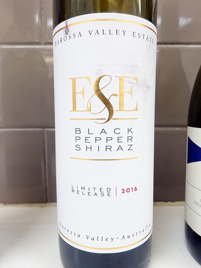Barossa Valley Estate E&E Black Pepper Shiraz 2016 (92 pts)