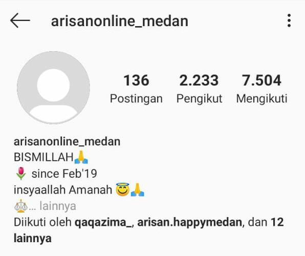 Kerugian Capai Rp 1 2 M Owner Investasi Arisanonline Medan