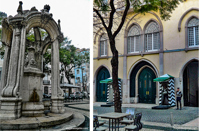 Largo e Quartel do Carmo, Lisboa