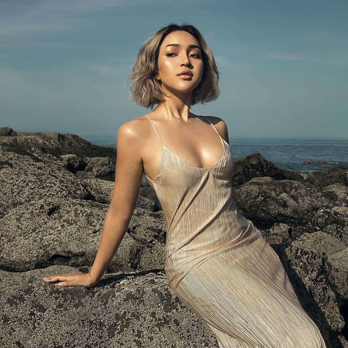 Nay Chi Oo - Ngapali Beach Fashion Photoshoot